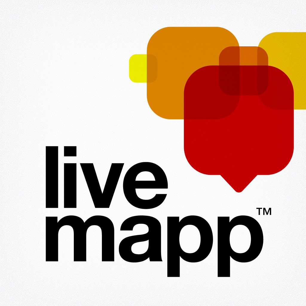 livemapp - photo blog travel pics app icon